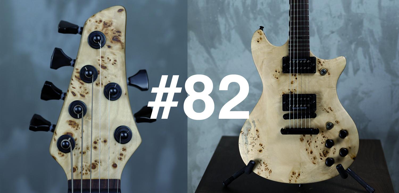 """Guitare électrique custom """"Blush"""""""