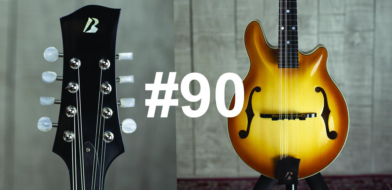 mandoline style F custom